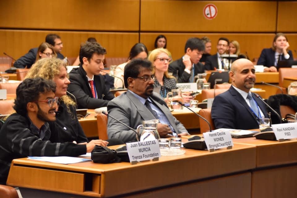 انتخاب الدكتور موسى داوود الطريفي مدققاً للجنة فينا في الأمم المتحدة