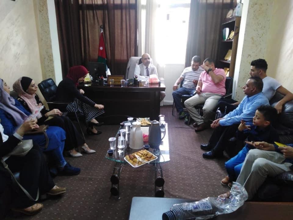 جهود مستمرة لأعضاء الجمعية الاردنية لمكافحة المخدرات مؤسسات المجتمع المحلي